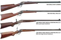 Uberti 1885 Highwall Carbine Rifle Produktbild